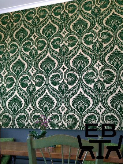 Bungalow 4171 wall