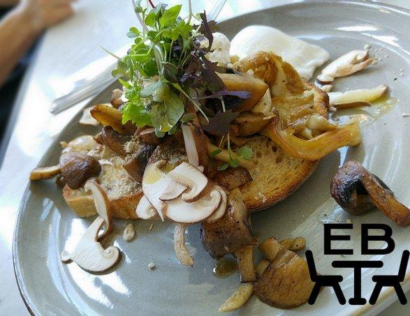 Kettle Black mushrooms