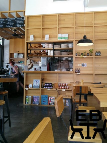 Merriweather Cafe indoors