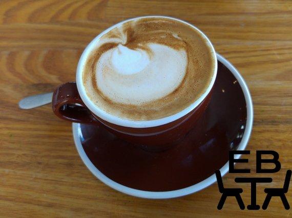 Perhaps modern latte art?