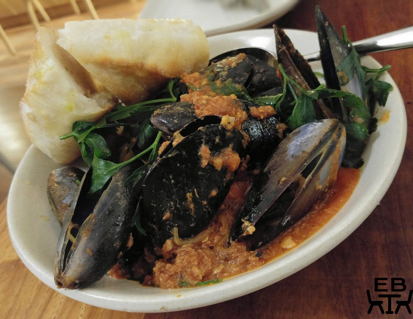 London Fields mussels