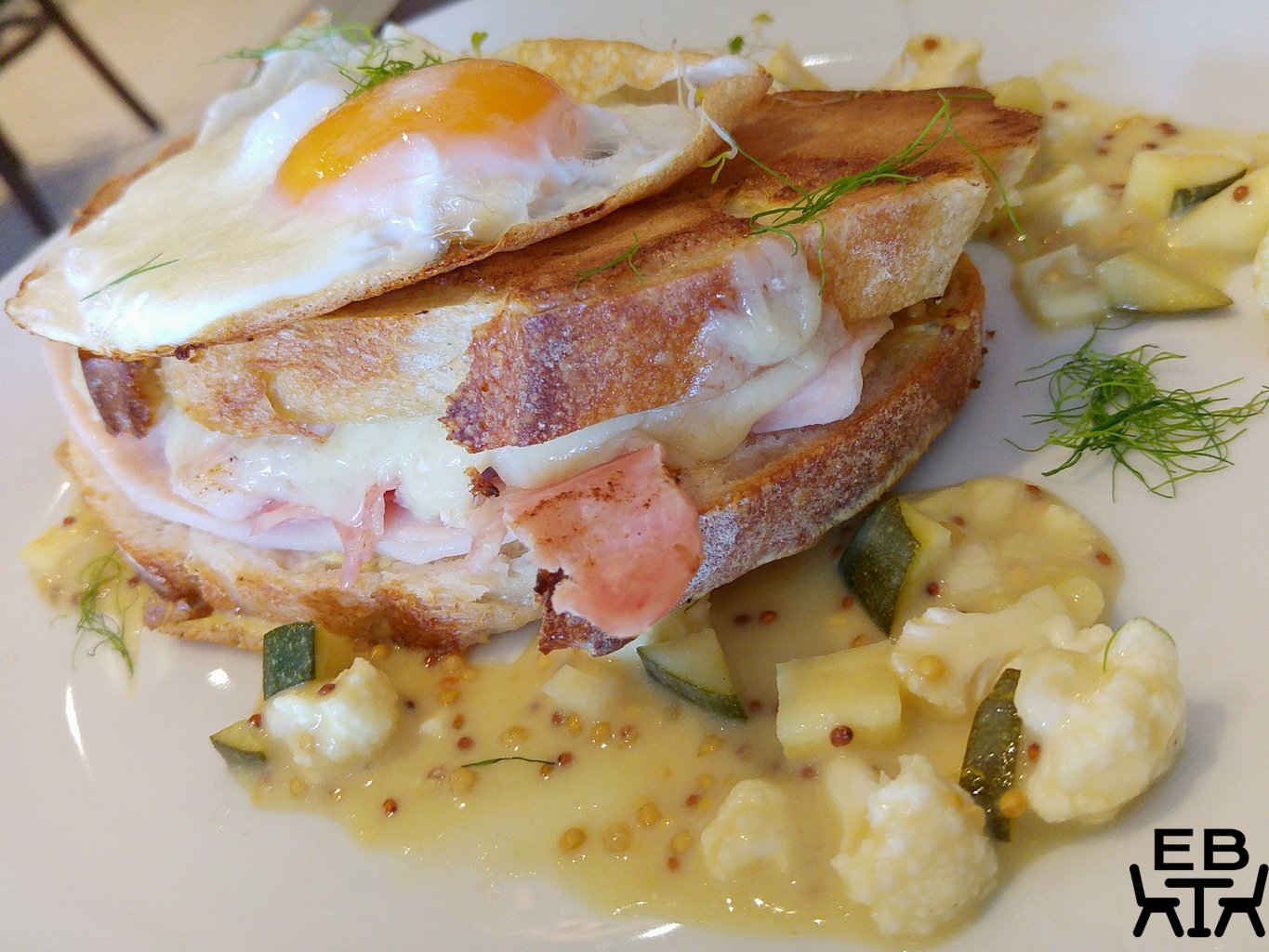 Seven south croque madam