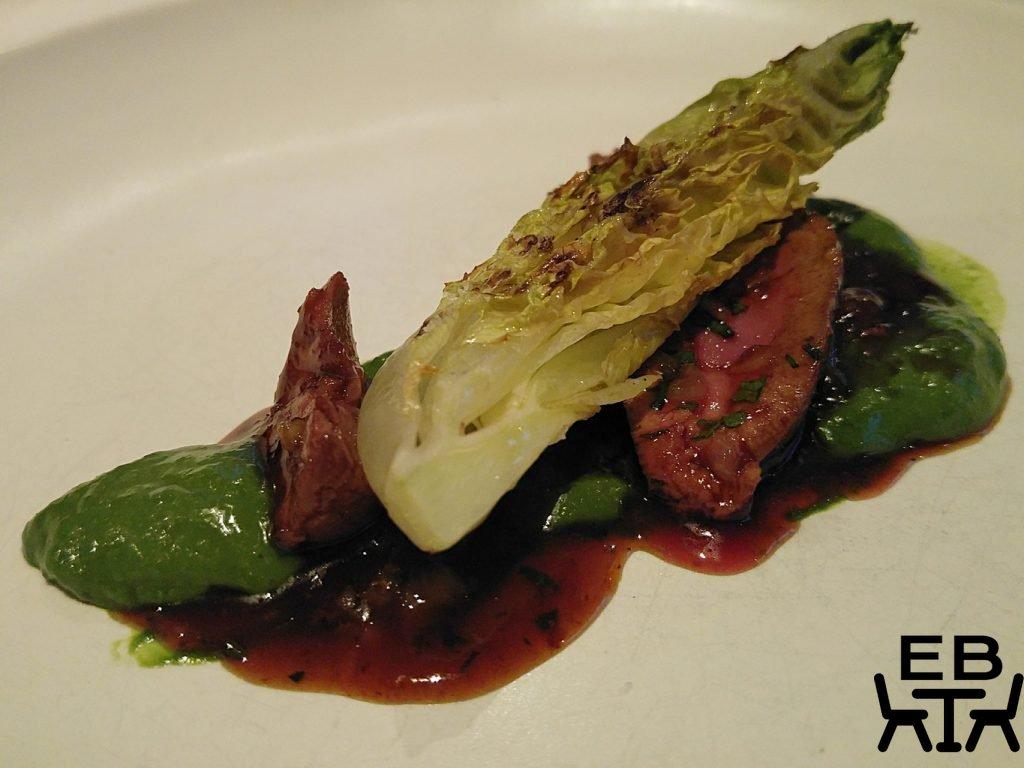 Urbane lamb and lettuce
