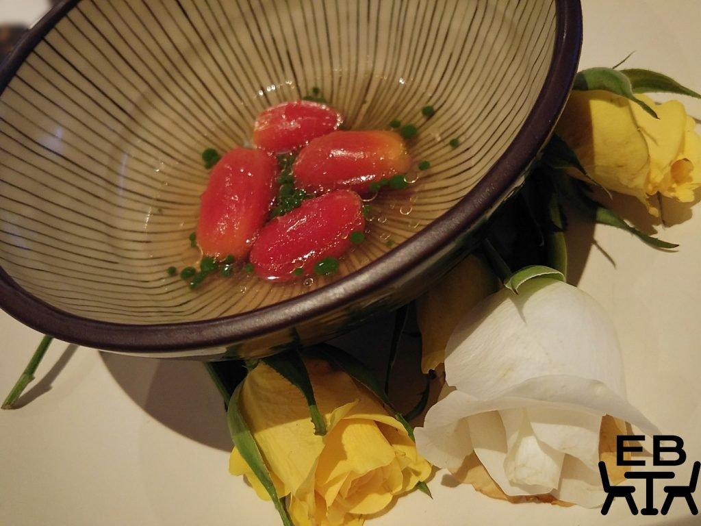 Urbane tomato soup