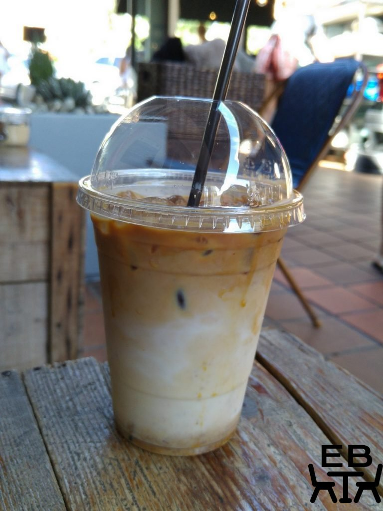 Canteen kitchen iced latte
