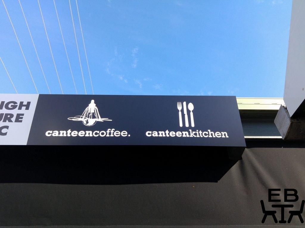 Canteen kitchen sign