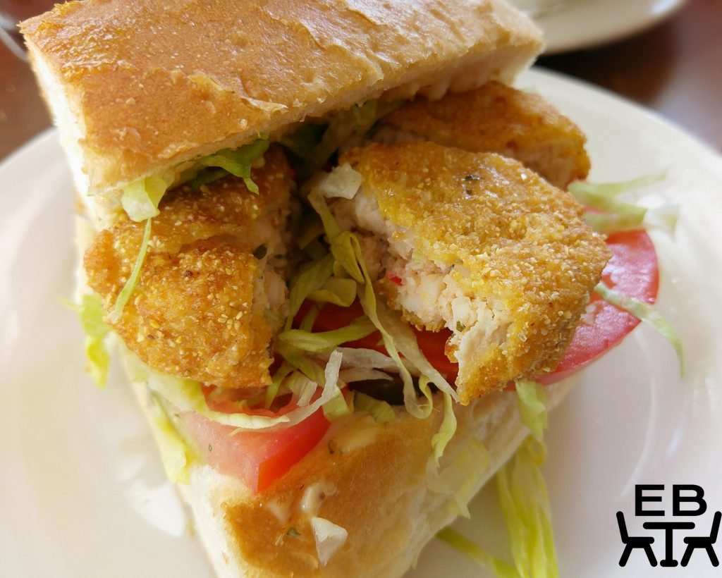 Creole soul kitchen crocodile po boy