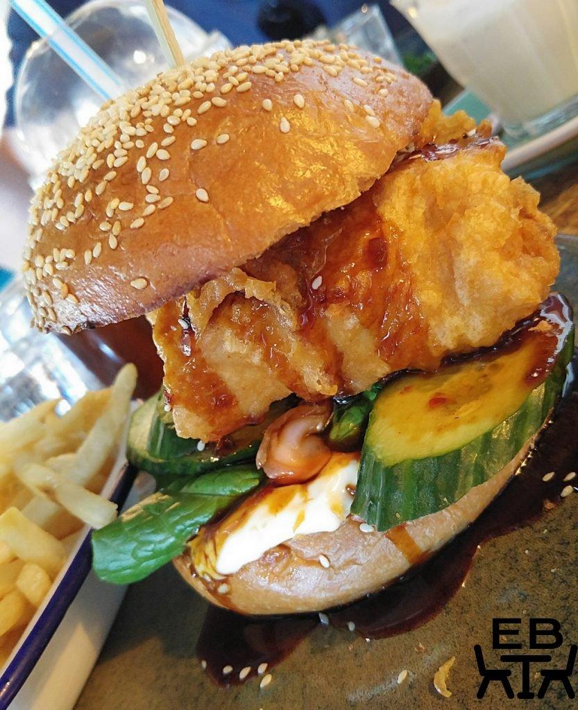 Elk espresso burger