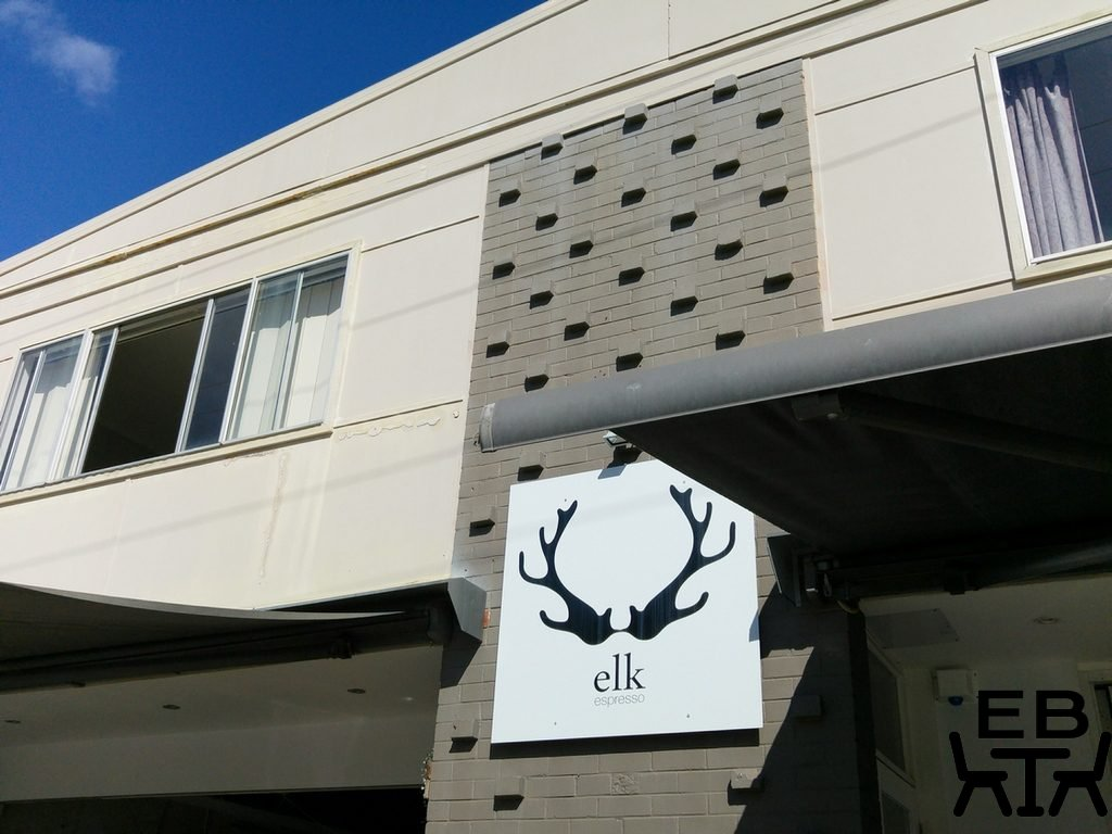 Elk espresso sign