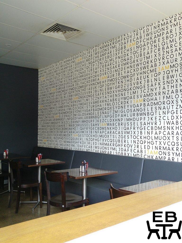 Jam 4012 wall