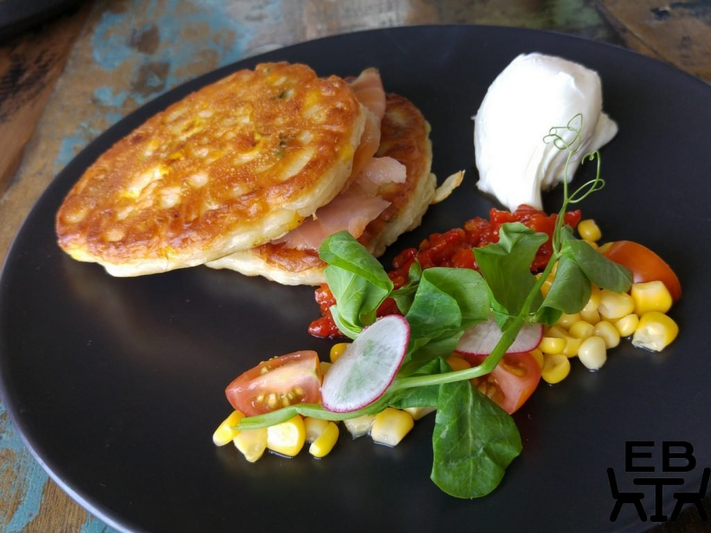 Lazy dog corn fritters