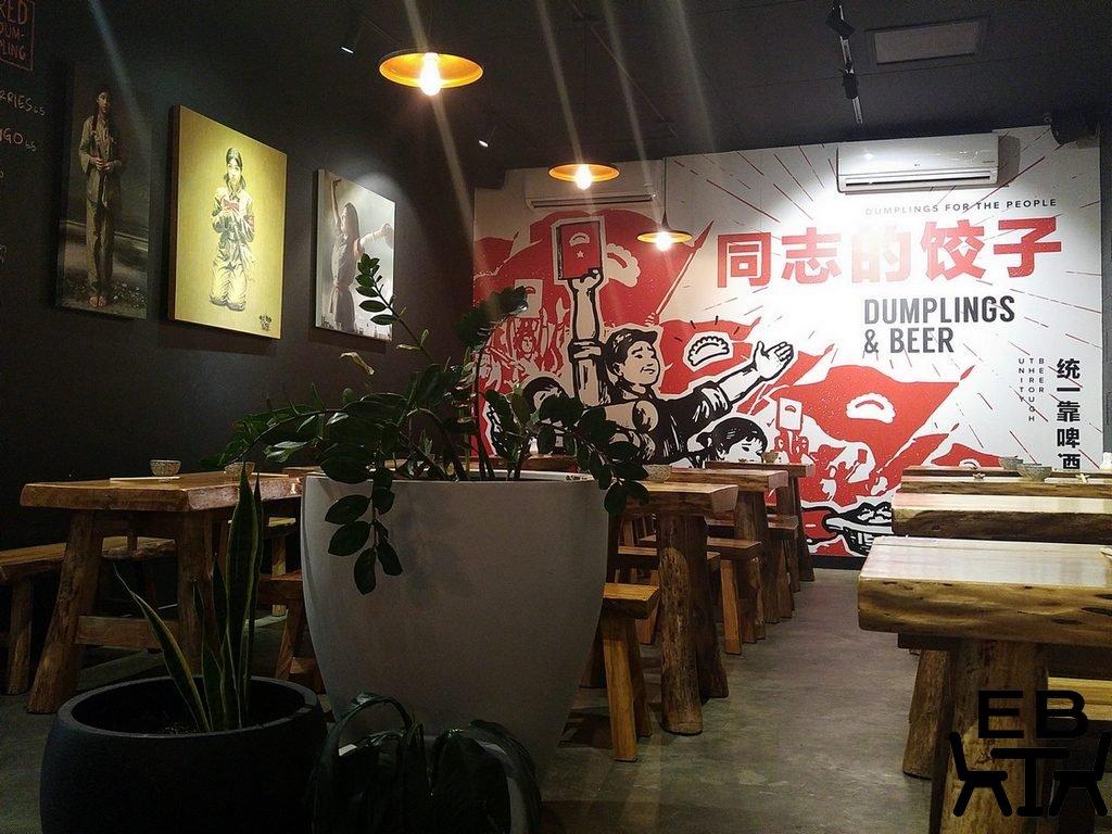 Little red dumpling mural