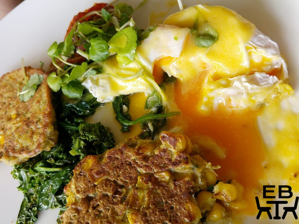 Paddington deli fritters eggs