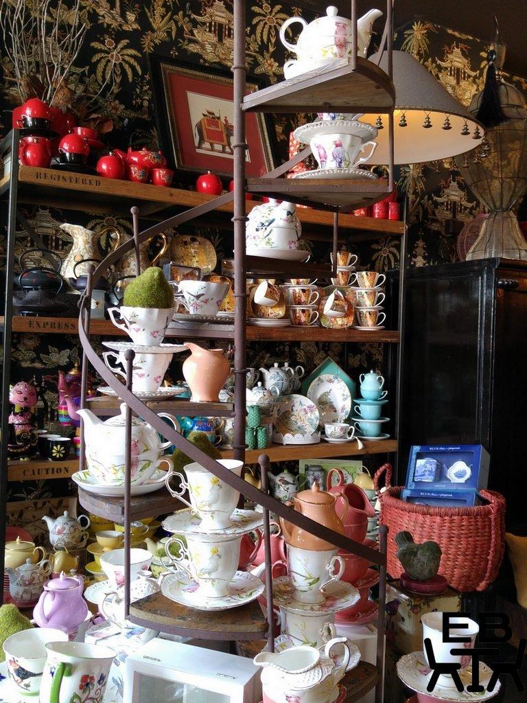 Silva spoon teapots