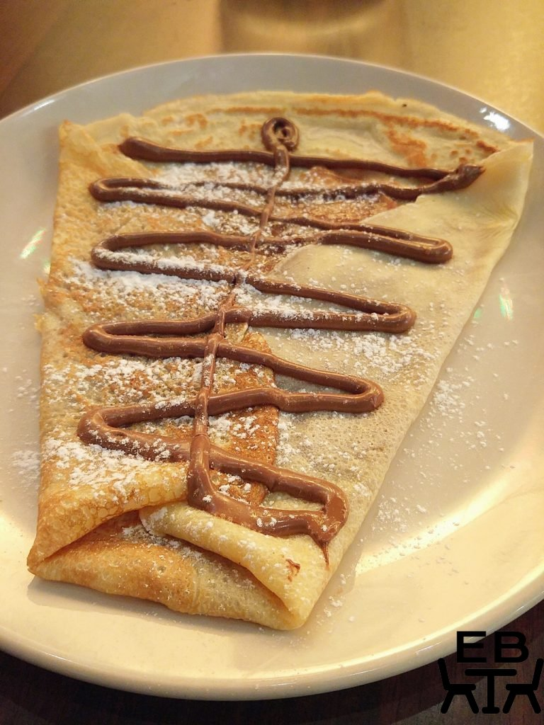 French food shop crepe