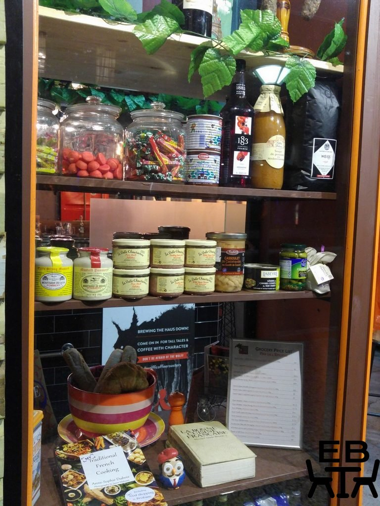 French food shop window