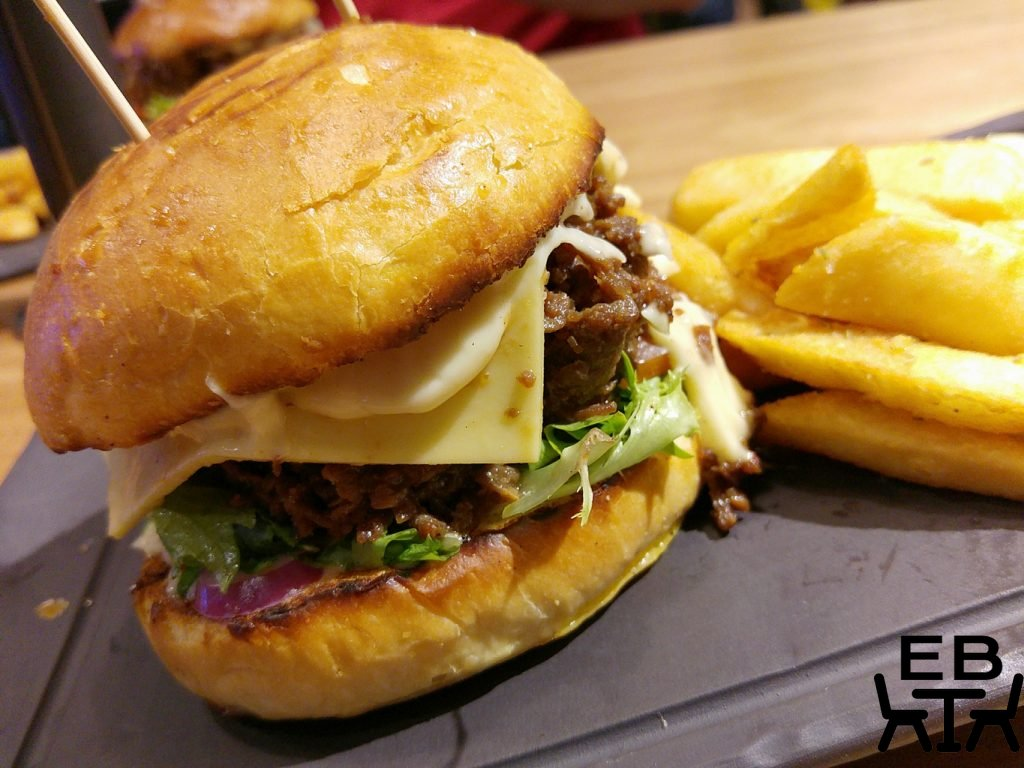 Miel container korean bbq bulgogi burger