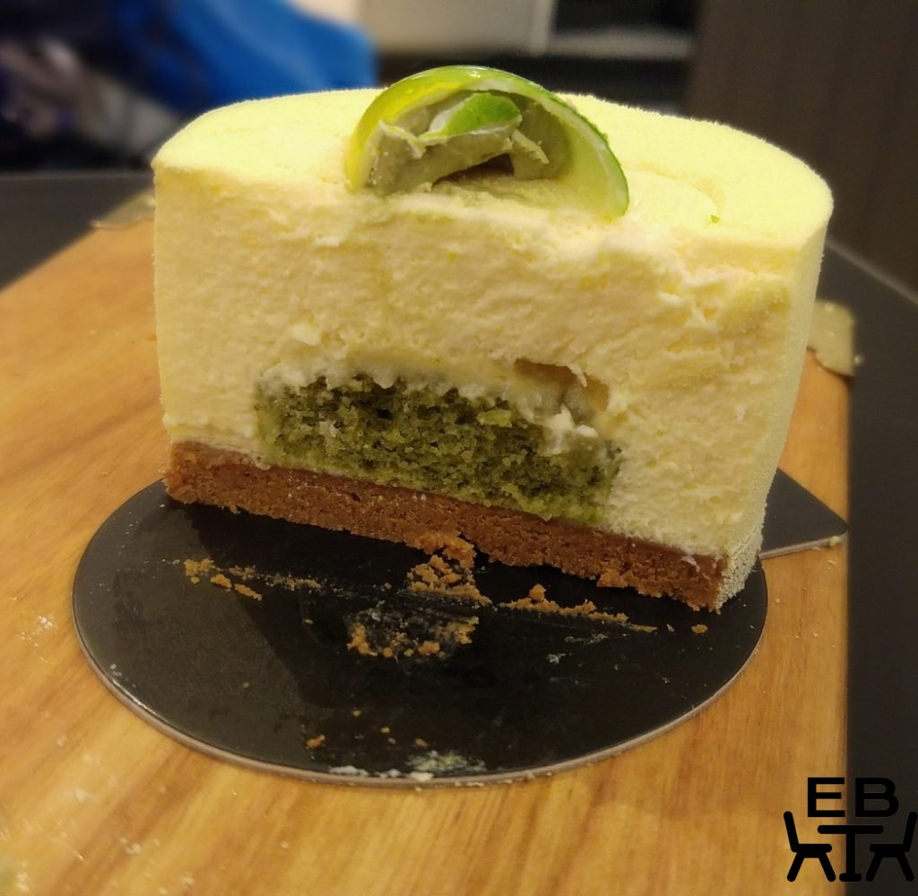 Bibelot lemon basil cheesecake
