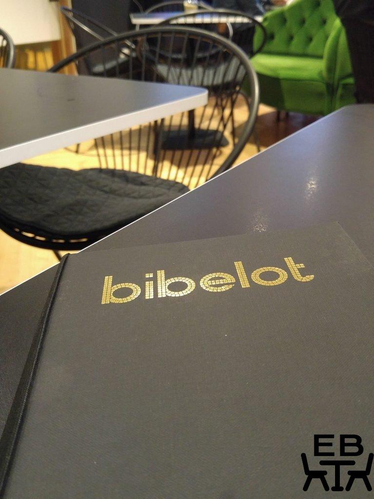 Bibelot menu