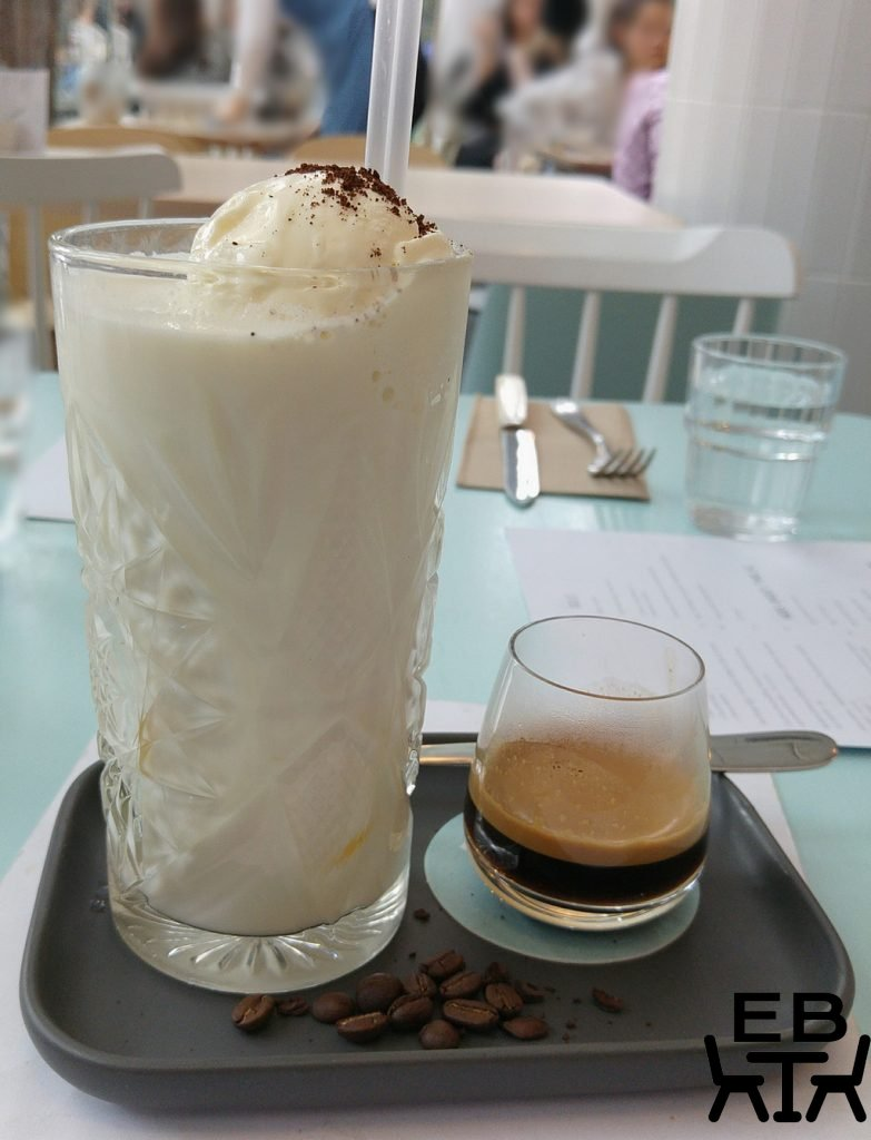 Kitty Burns iced coffee
