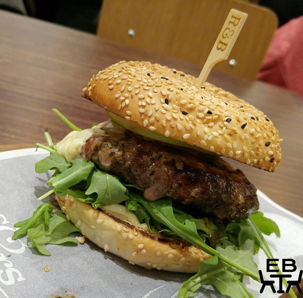 Ribs and burgers woolloongabba lamb burger