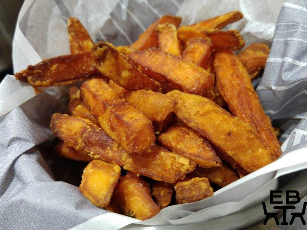 Ribs and burgers woolloongabba sweet potato fries