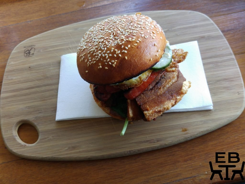 Two little pigs burger