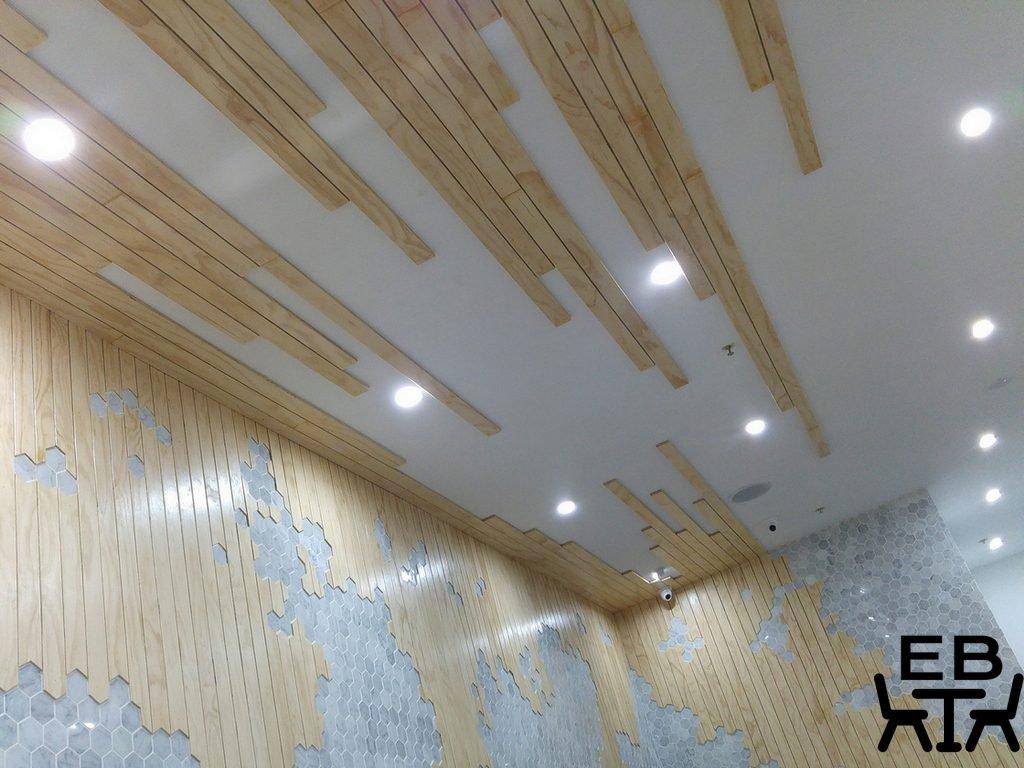 White mojo ceiling