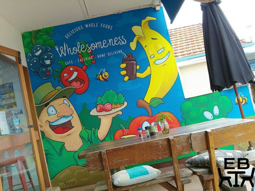 Wholesomeness mural