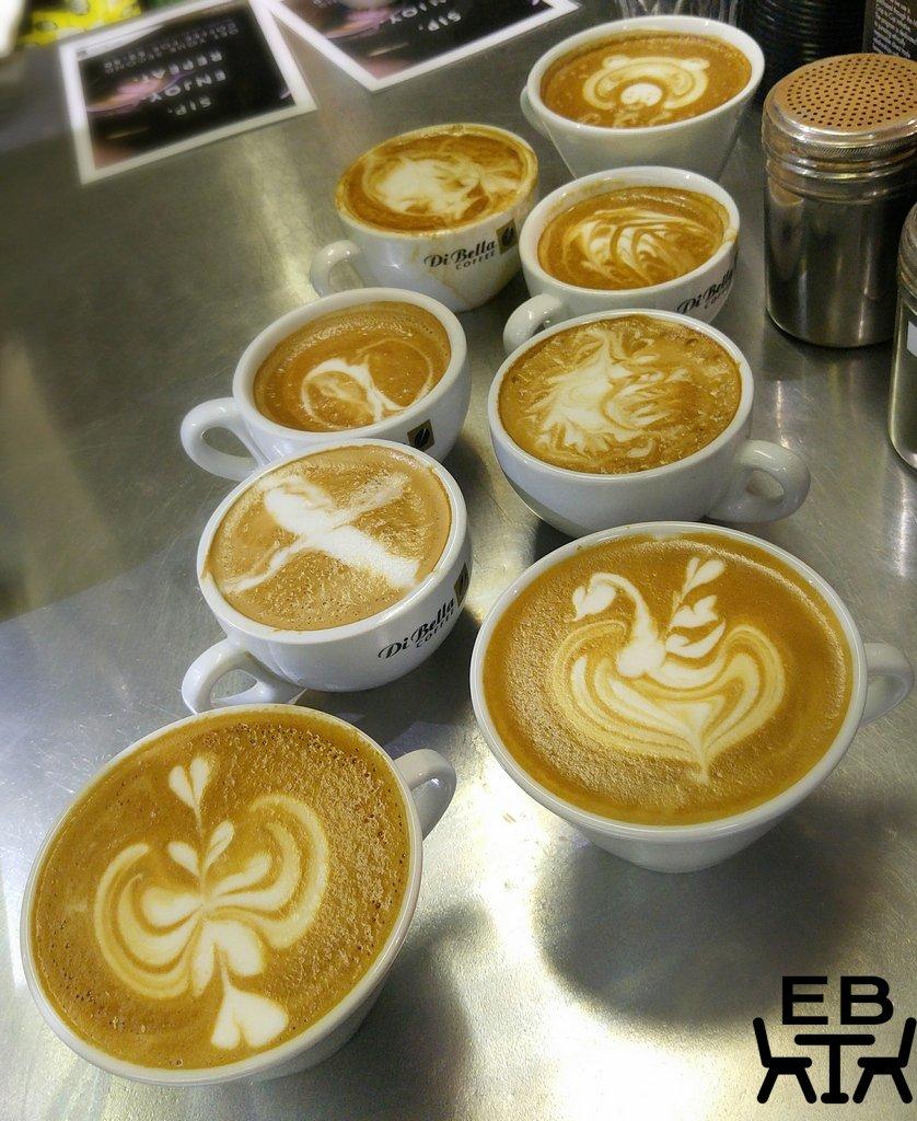 Di bella latte art