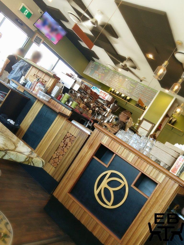 Kafe Krave counter
