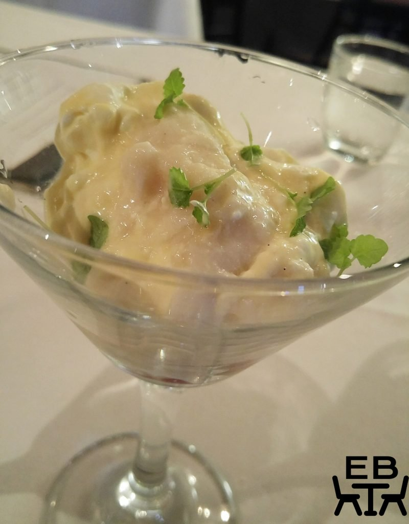 Restaurant two custard apple fool