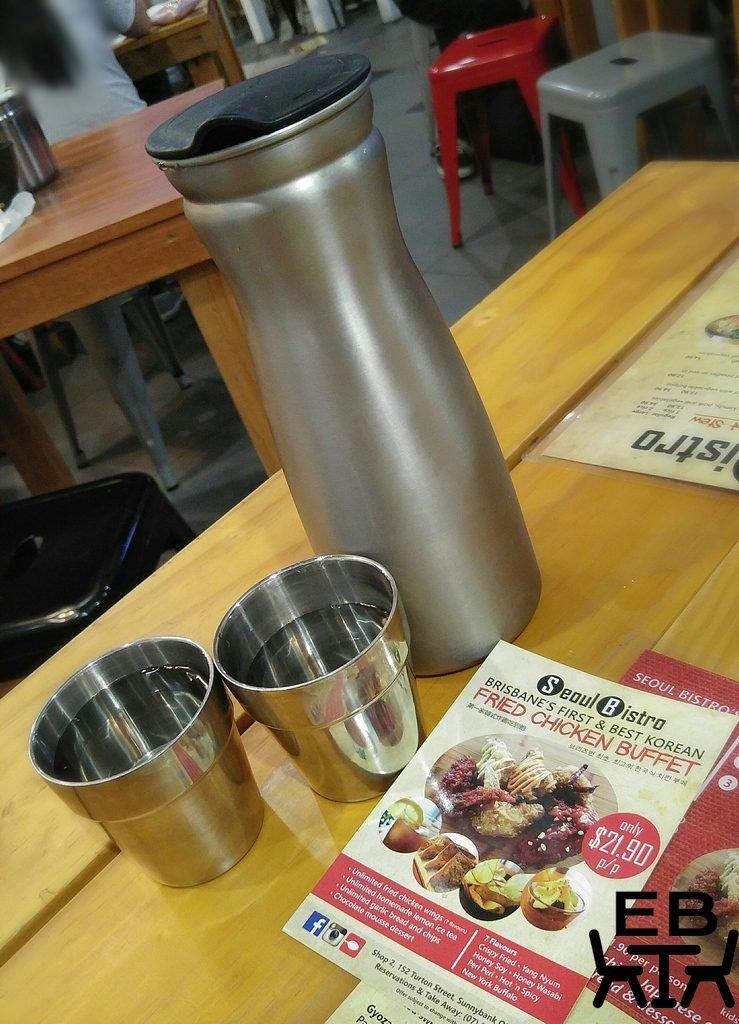 Seoul bistro tableware