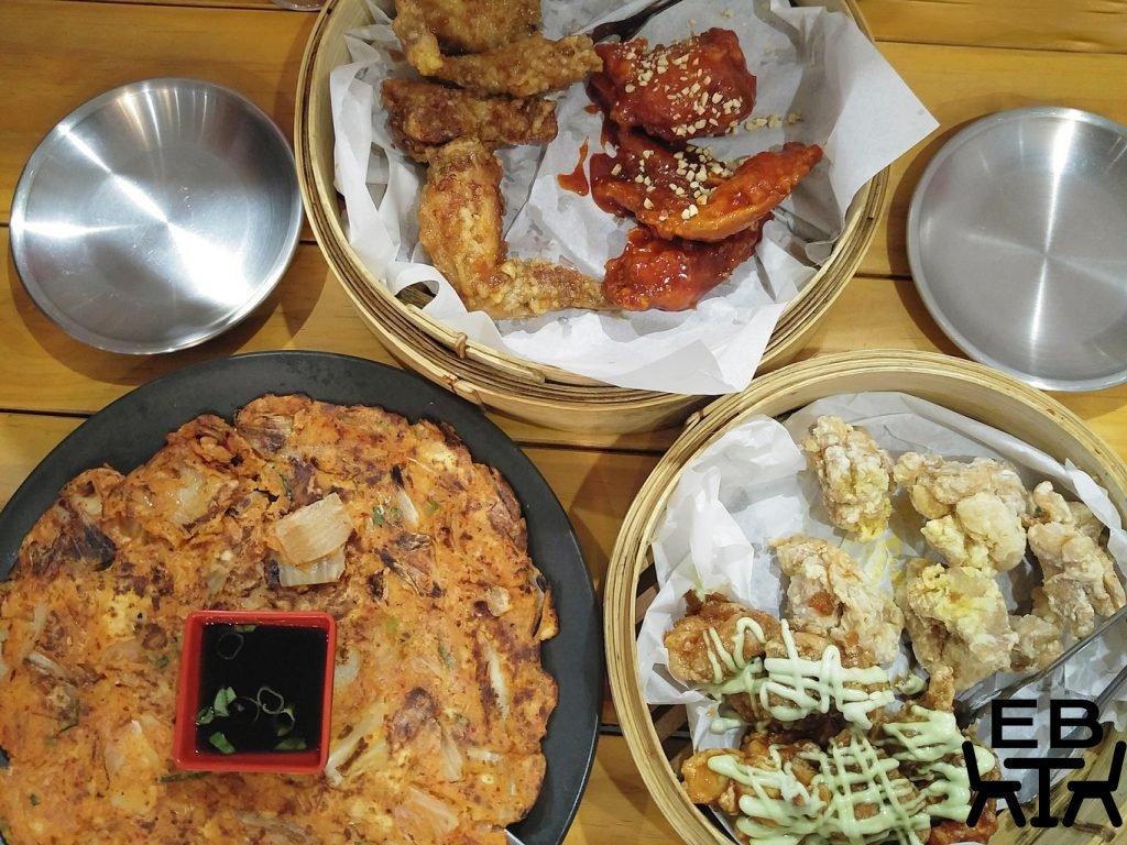 Seoul bistro dishes