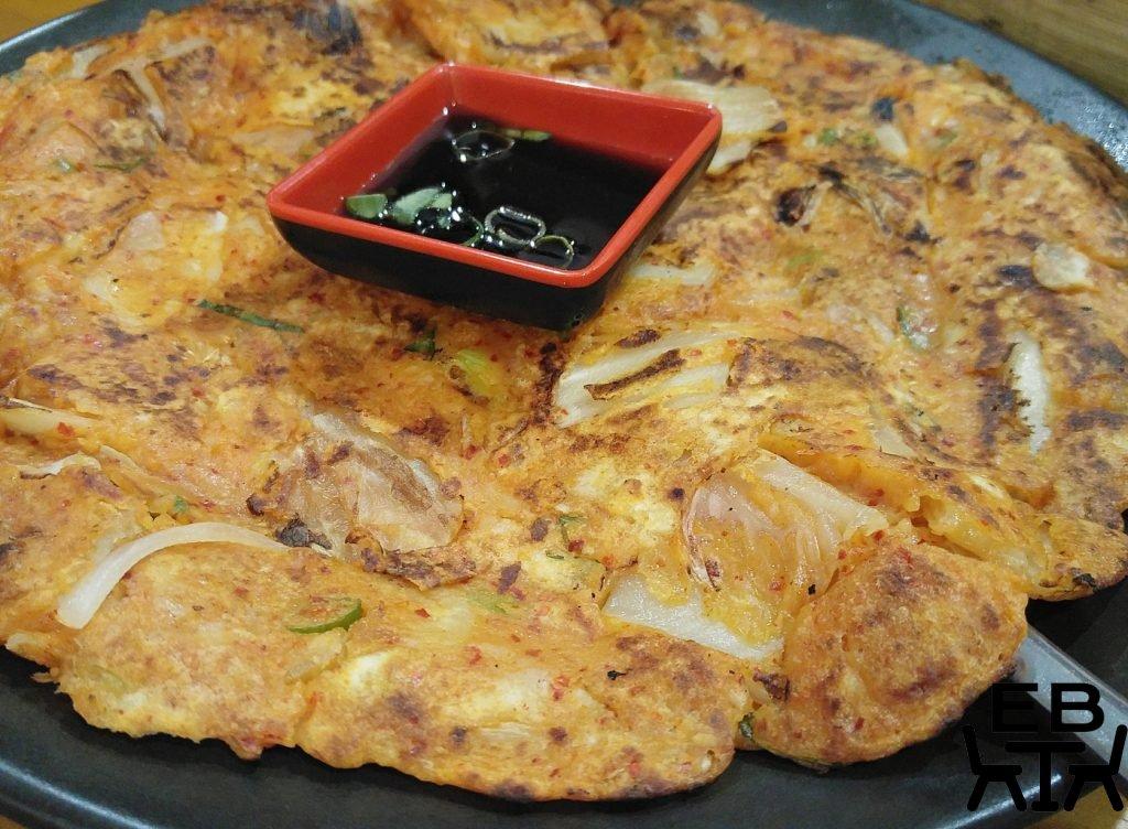 Seoul bistro kimchi pancake