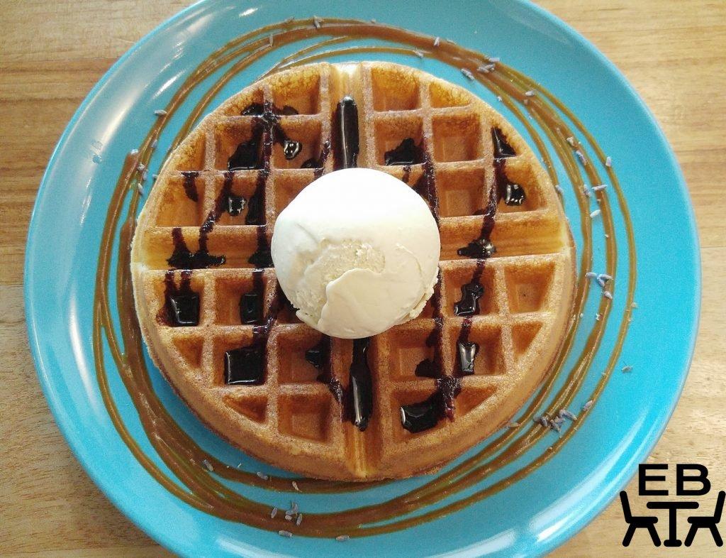 FatCat brown butter waffle
