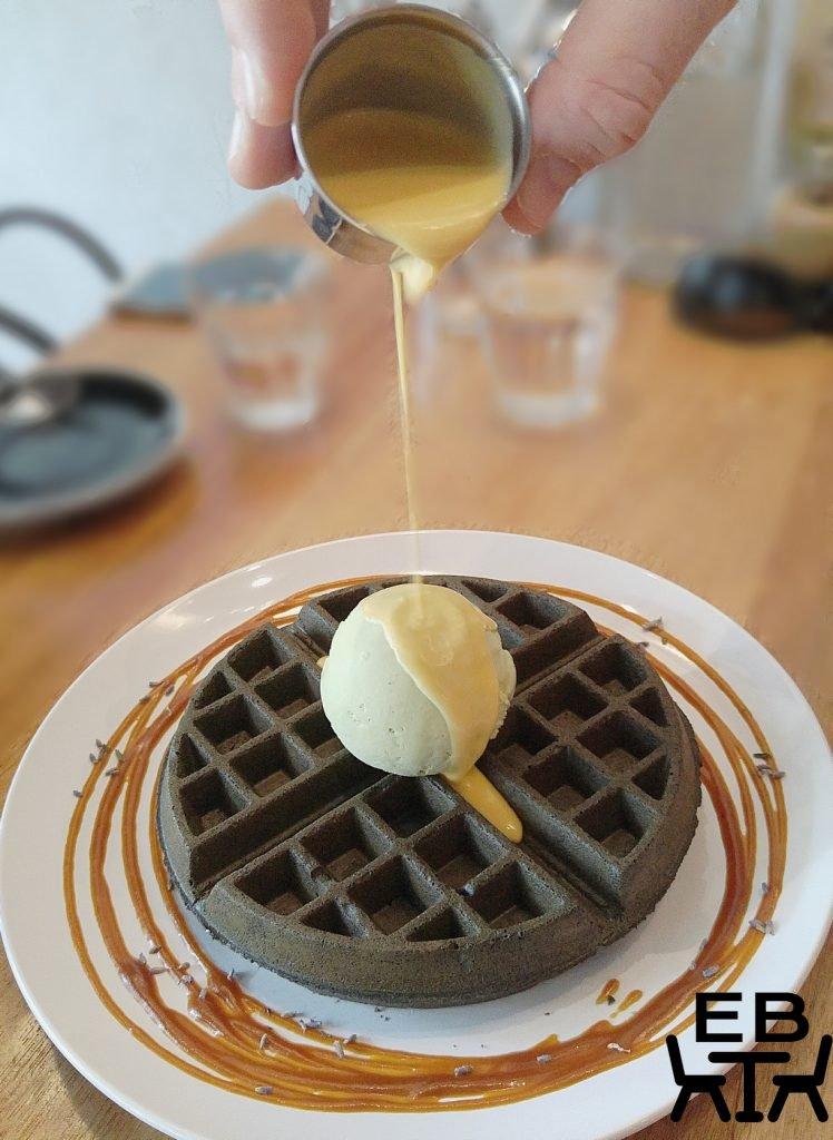 FatCat charcoal waffle