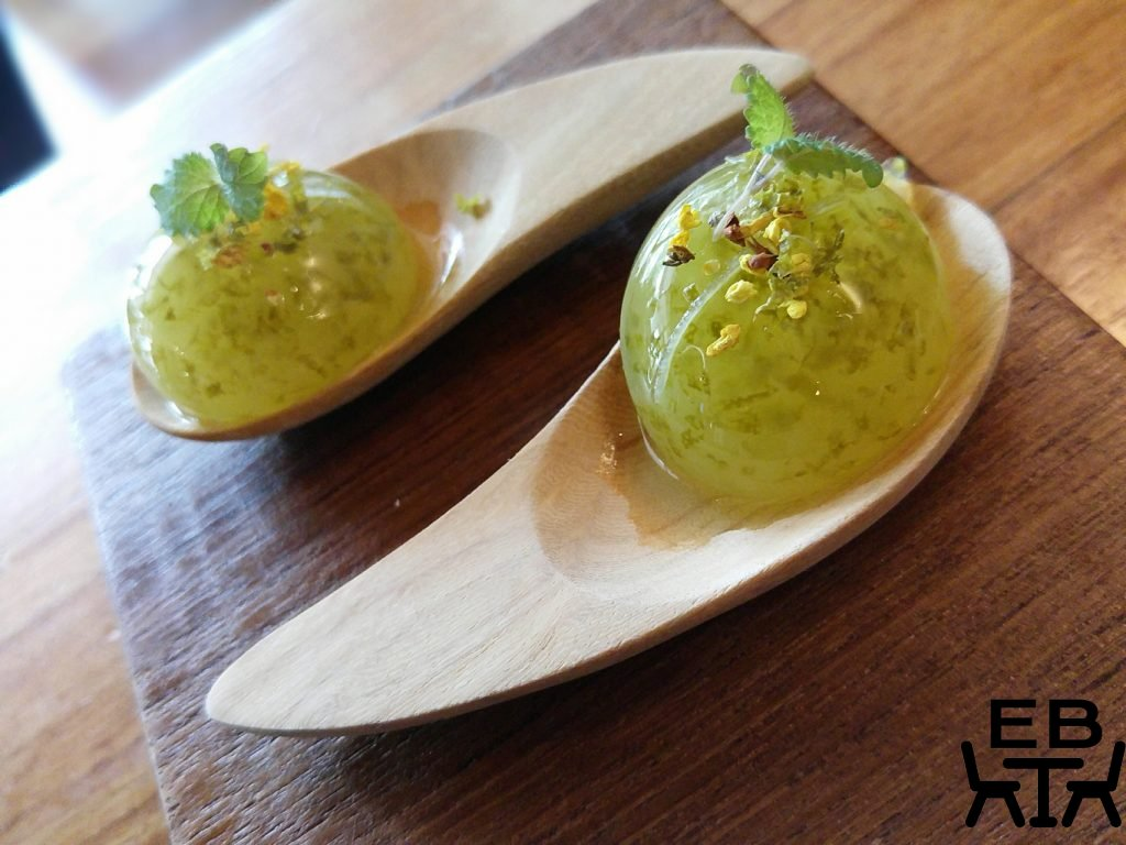 FatCat lime and mojito spheres