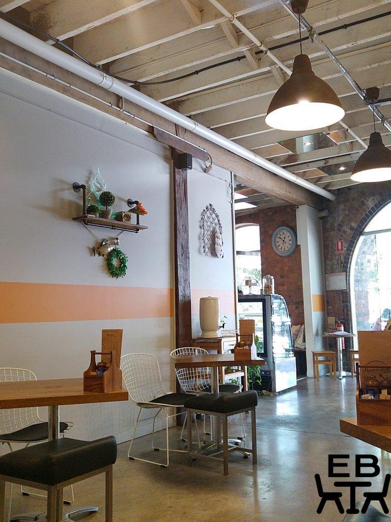 Hemingway cafe inside