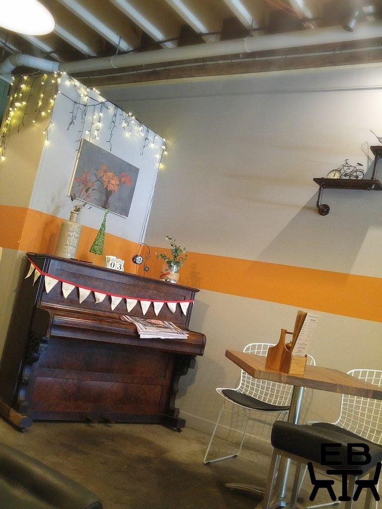 Hemingway Cafe piano