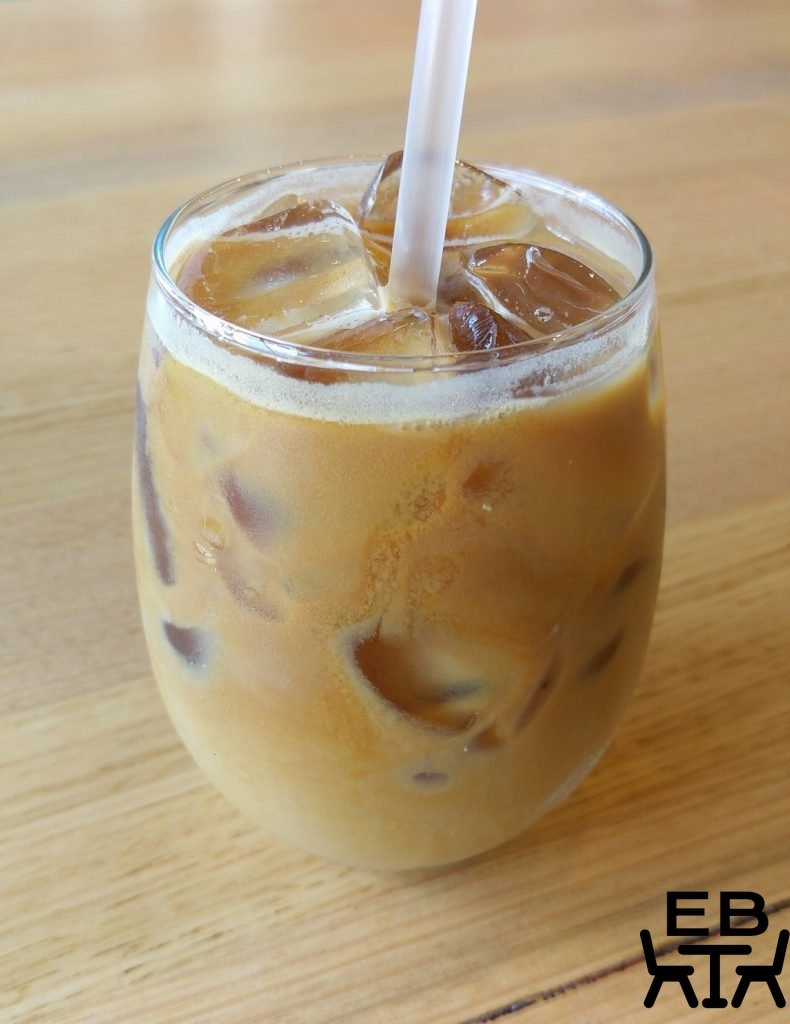 the priory kitchen iced latte