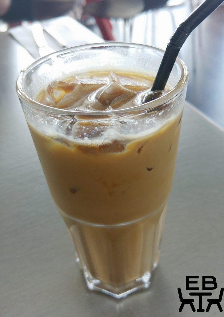 Same same but different iced latte