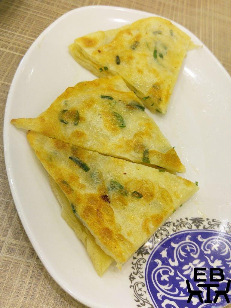 golden dumpling chive pancakes