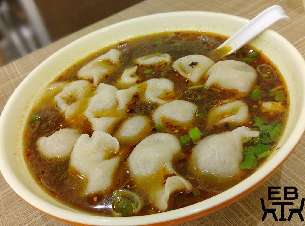 golden dumpling hot and sour