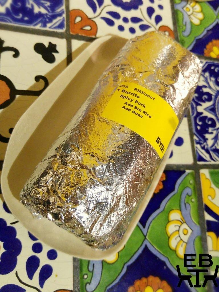 guzman y gomez burrito.