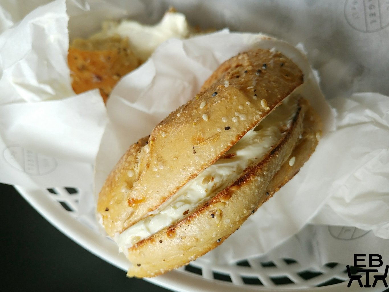nyc deli bagel bagel