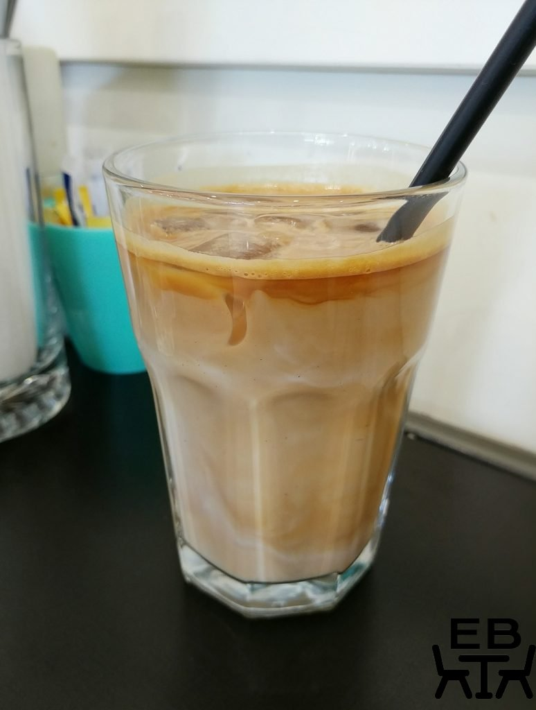 brunos iced latte