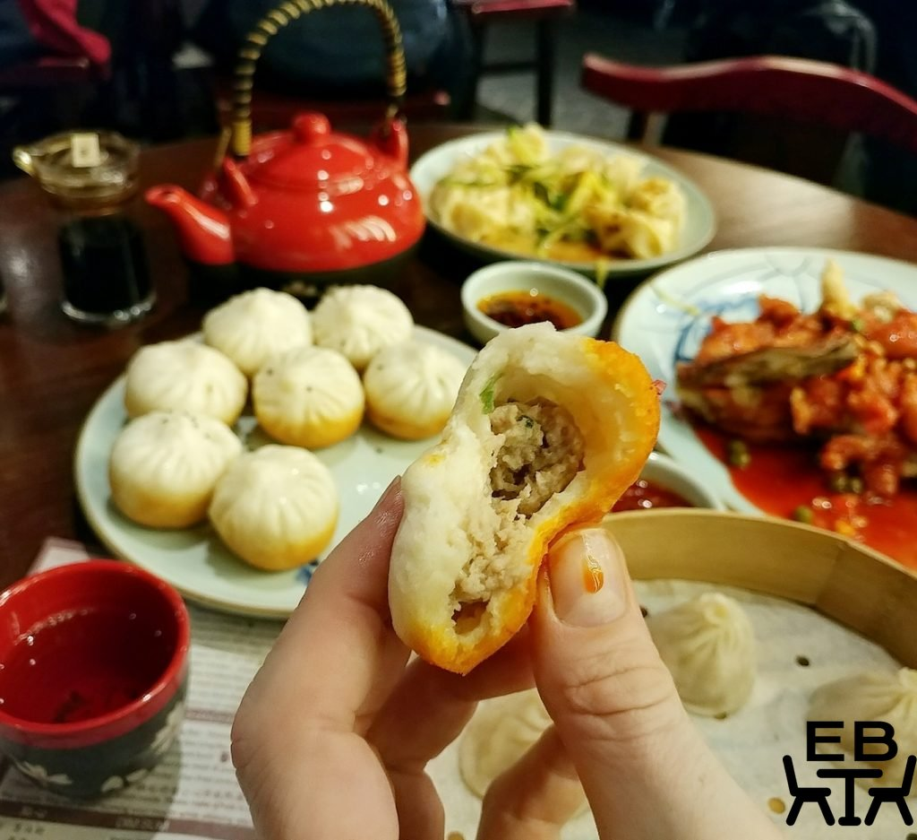 new shanghai pork bun