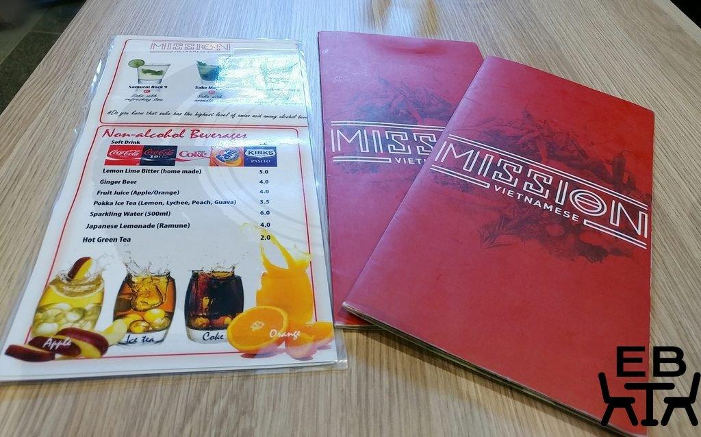 mission vietnamese menu