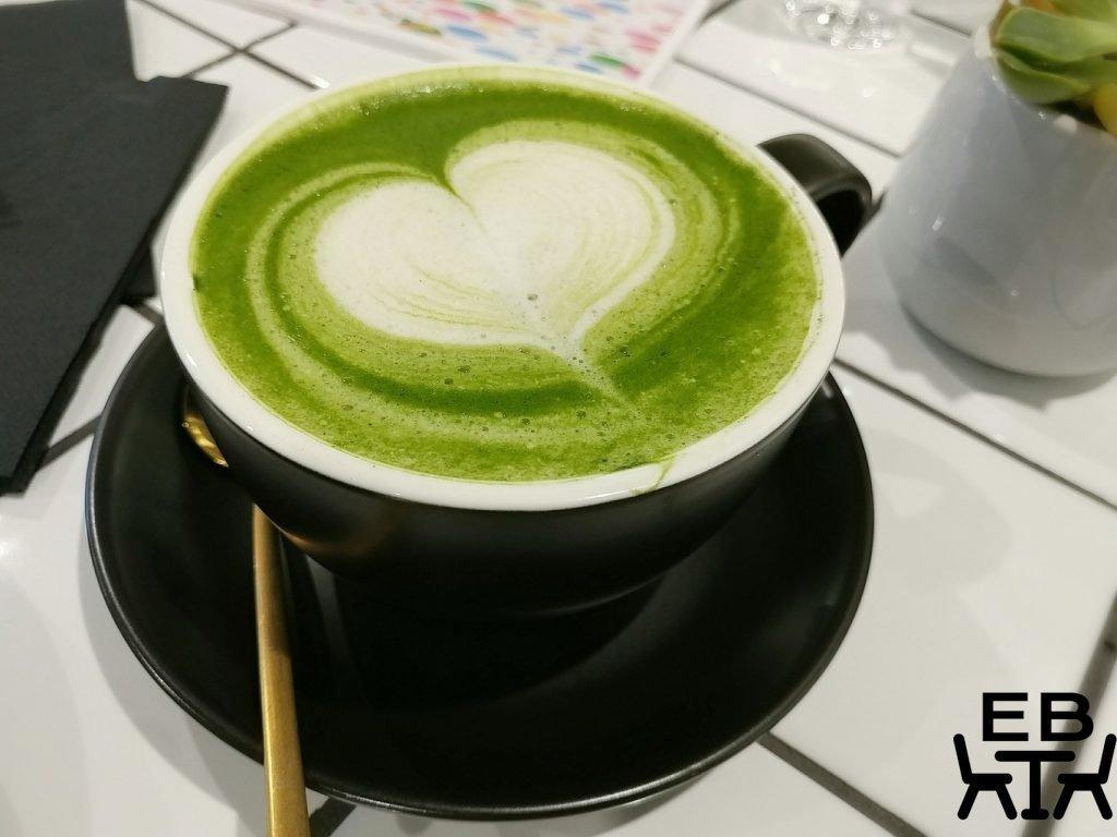 B+C lab matcha latte